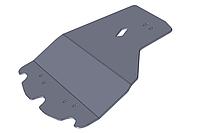 Защита двигателя Subaru Legacy (2003-2009) 2.0, 2.5