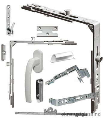 Фурнитура для металопластиковых окон и балконных дверей