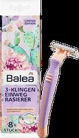 Одноразовые женские станки для бритья Balea 3-Klingen,  8 шт.