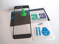 Защитное стекло для Xiaomi Mi A1 / Mi5X Full cover с черными рамками