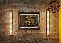Световые планки с лампочками LED для подсветки визажного (гримерного) зеркала в салонах красоты, магазинах