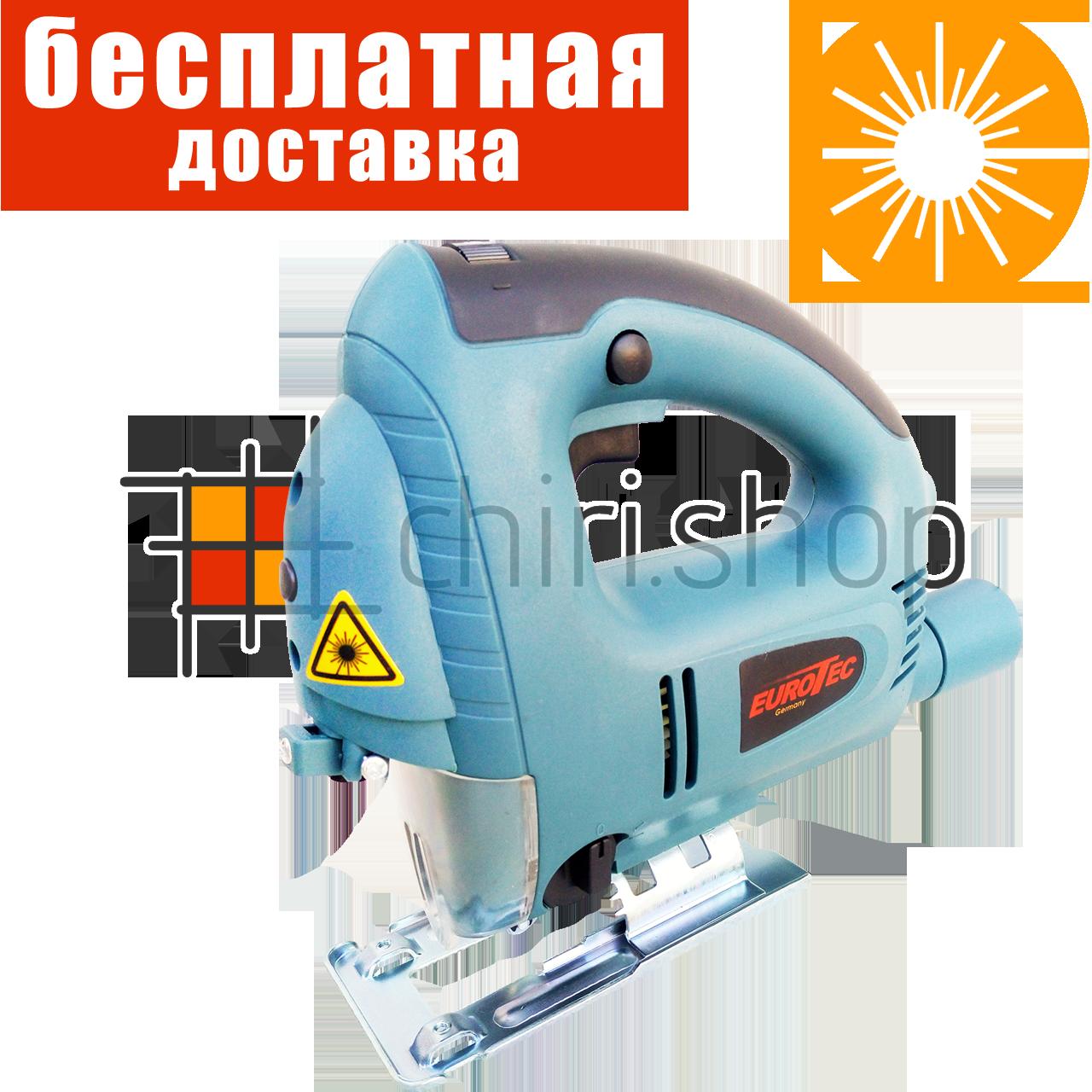 Электролобзик с лазером 80 мм регуляция Eurotec JS 234