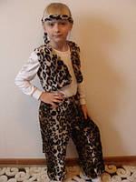 Меховый костюмчик геопарда для детского праздника, рост 98-116 см., 350 гр.