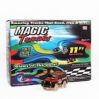 Игрушечная дорога Magic Track, трек на 165 деталей + машинка