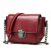 Женская сумка бордовая  985