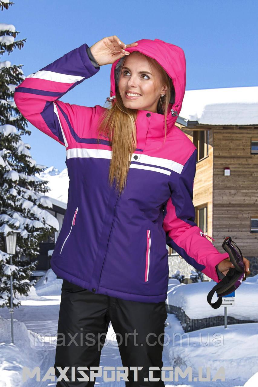 Куртка горнолыжная женская Freever 7255 DarkPurple