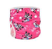 Трусики подгузники для бассейна для девочки Зебры