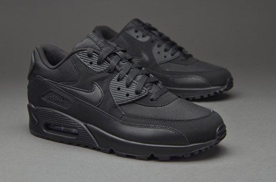 Кроссовки Nike Air Max 90 Black Черные мужские