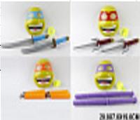 """Игровой набор """"Черепашки-ниндзя"""" RZ137 1/2/3/4 (14771 35/36/37/38) маска, нунчаки или меч"""
