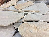 Песчанник 2-2,5 см, желто-коричневый