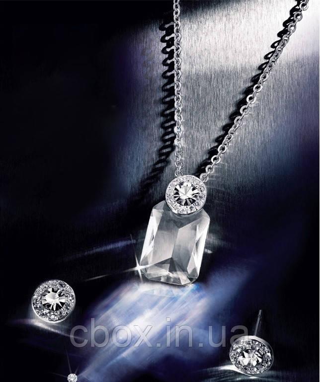 Набір біжутерії кольє і сережки, Avon, Necklace and Earrings Giftset, Ейвон, 29006