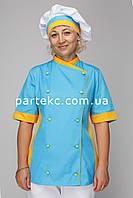 """Шапочка поварская """"Шеф-Повар"""" с цветным кантом, Киев"""