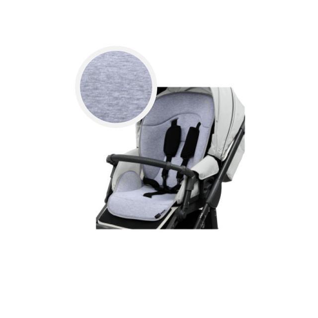 Детская коляска универсальная 2в1 Roan Bass Soft Eco Dove grey(Роан Басс, Польша)
