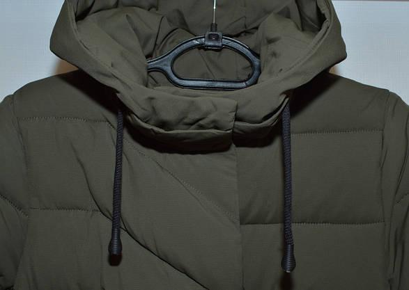 Куртка пальто женская зима KSA (48-58р) 18263, фото 3