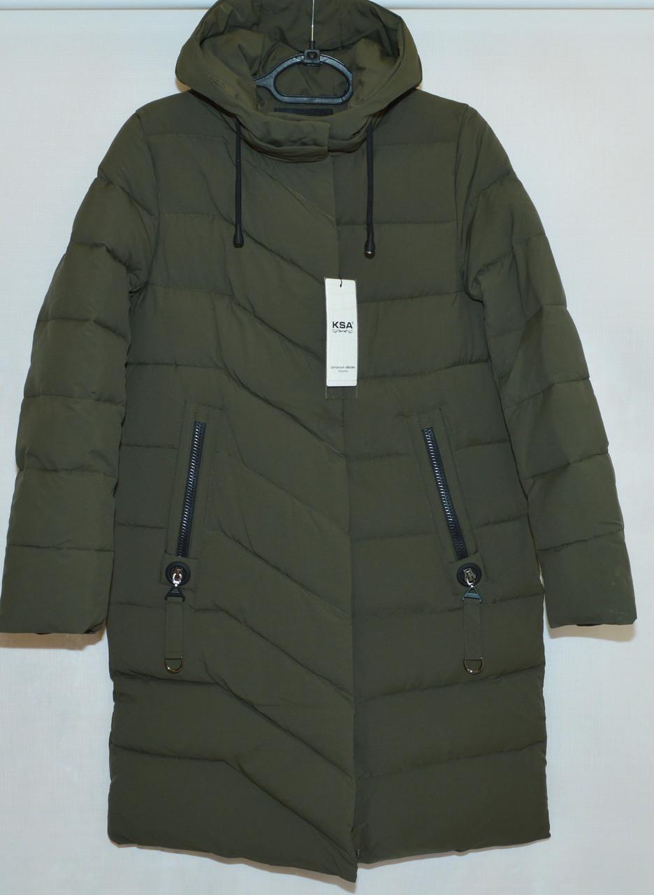 Куртка пальто женская зима KSA (48-58р) 18263