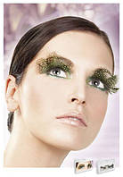Реснички Brown-Green Feather Eyelashes