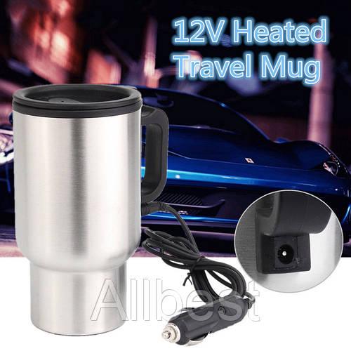 Автомобильная термокружка с подогревом от прикуривателя CUP 2240