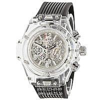 Часы наручные Hublot Big Bang Quartz Unico Sapphire Black-White