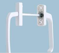 Балконный гарнитур белый асимметр  BHS 1 бел