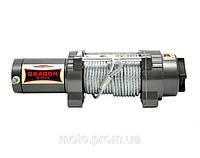 Лебедка ATV тяга 2041кг Dragon Winch DWH 4500 LHD электрическая для квадроциклов, ATV, вездеходов
