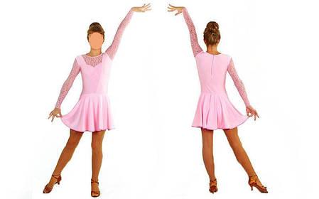 Сукня Рейтингове (бейсік) з гіпюром UR DR-1642-LP, фото 2