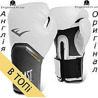 Боксерские перчатки Everlast белые | Боксерські рукавички Everlast білі