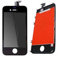 Оригинальный дисплей iPhone 4s (black) модуль с сенсором в рамке