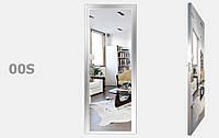 Двери межкомнатный с зеркалом Серебро S00-09, фото 1