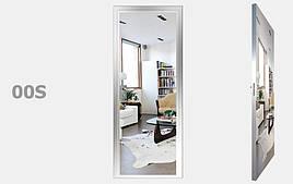 Двери межкомнатный с зеркалом Серебро S00-09