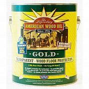 Transparent cold прозрачно-золотое тунговое масло 1000 мл (отлив) для покрытия древесины внутри помещений