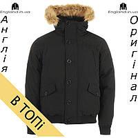 Парка-куртка Firetrap черная с теплым утиным пухом | Парка-куртка Firetrap чорна з качиним пухом