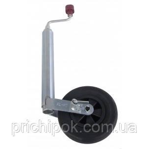 Опорное колесо Plus с тормозом, нагрузка 150 кг, пластиковый диск