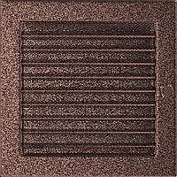 Решітка вентиляційна Мідь (фарбована) 22*22 жалюзі