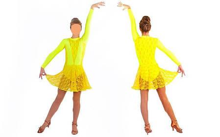 Сукня Рейтингове (бейсік) з гіпюром UR DR-1641-Y, фото 2