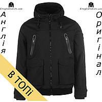 Куртка Firetrap осенняя черная | Куртка Firetrap осіння чорна