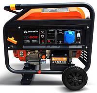 Бензиновый генератор Daewoo GDA-8000Е (7.5 кВт, электростартер), фото 1