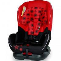Автокресло Bertoni CONCORD (0-18кг) (black&red stars)