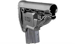 Приклад Fab Defense GL-MAG-B для M4 с держателем магазина, черный (без буферной трубы)
