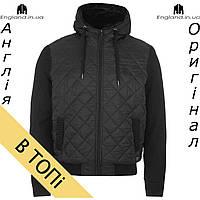 Куртка Firetrap осеняя с наполнителем черная b29c5687618df