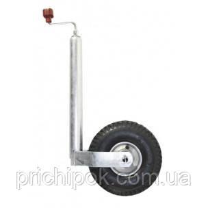 Опорное колесо Plus, нагрузка 250 кг, стальной диск с пневмошиной