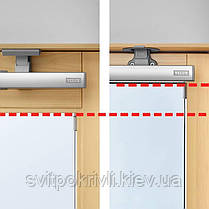 Мансардное окно VELUX Оптима GZR 3050B – Ручка снизу, фото 3