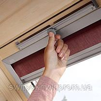 Мансардное окно VELUX Оптима GZR 3050B – Ручка снизу, фото 2