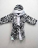 Детский махровый халат(Миньёны,Ромашка,Зебра)