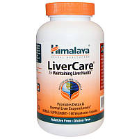 Комплекс трав для печени Himalaya Liver Care, 180 капсул