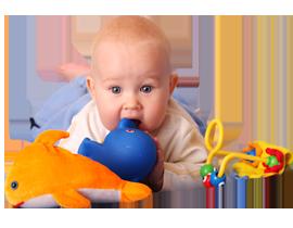 Іграшки для малюків 0+