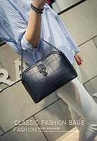 Женская сумка через плечо с цепочкой