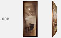 Двери межкомнатные зеркало Бронза рис. 00-09, фото 1
