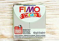 Фимо Кидс полимерная глина Fimo Kids №80, светлый серый, Германия. , фото 1