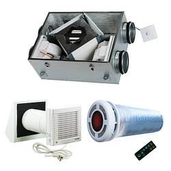 Приточно-вытяжные установки с рекуператором тепла