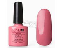 Гель-лак CND Shellac  темно розовый